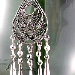 Silver Earring Indigen