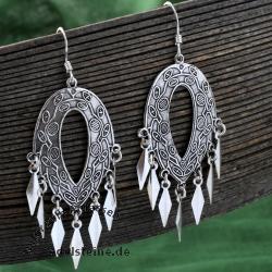 Silber Ohrringe Indigen 2