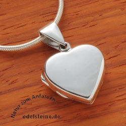 Medaillon heart made of silver