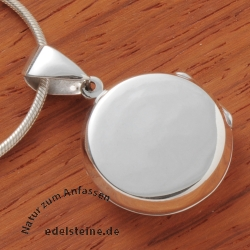 Medaillon made of silver