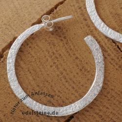 Silver Earring Ring