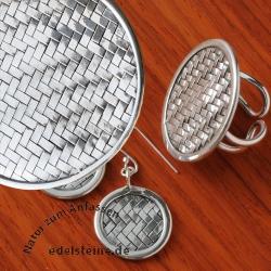 Silver Set Woven
