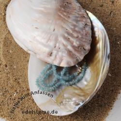 Deko schale aus muschel mit perlen - Muschel dekoration ...