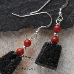 Earhook Black and Red