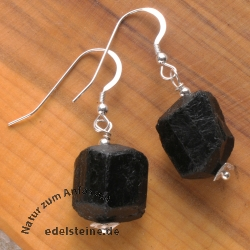 Earring Turmaline Black