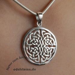 Keltischer Silber 925 Keltenknoten Anhänger