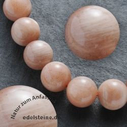 Gemstone-Beads Moonstone Round 10mm AA