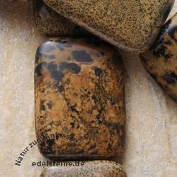 Gemstone-Beads Antic Jasper Rectangle 36x26x7mm