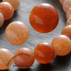 Gemstone-Beads Fire Agate Round 12mm