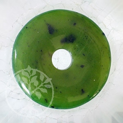 Nephrit Jade Donut 30 mm