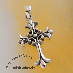 silver crucifix gothic