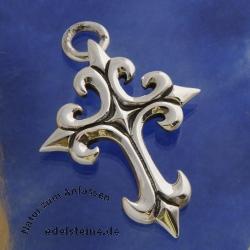 Silber Kreuz schwer