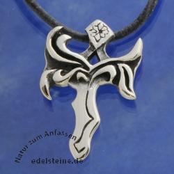 Silber Kreuz Schwert