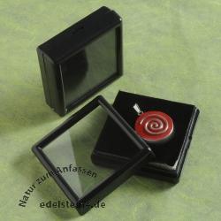 Acryl Kästchen 6 cm schwarz 12 Stück