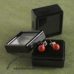 Acryl Kästchen 3 cm schwarz 20 Stück