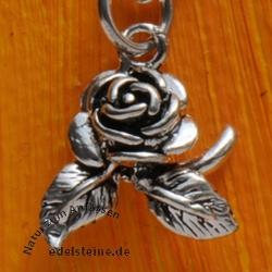 Silberanhänger Rose Silber 925