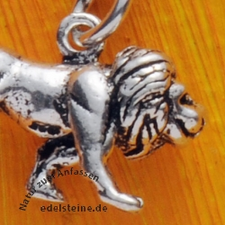 Silver Pendent Lion King