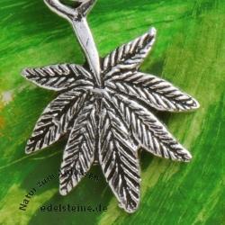Silber Anhänger Hanf Silber 925