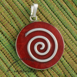 Coral pendant spiral