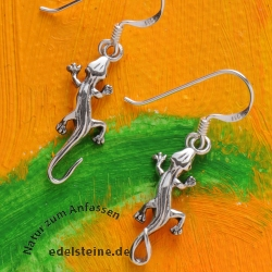 Silver Ear Pendant Spotted Salamander