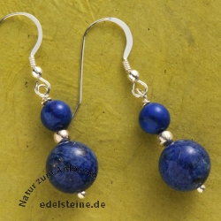 Ear Pendant Lapislazuli Ball