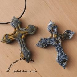Gothic Kreuz aus Picasso Jaspis