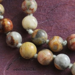 Crazy Lace Agate Necklace 45/8