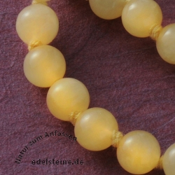 Orange Calcite Necklace 45/8