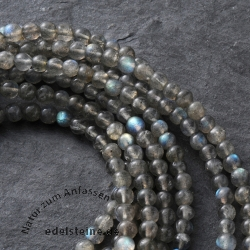 Necklace Labradorite Spektrolith 5 mm