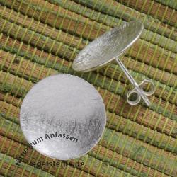 Ohrstecker Silber Bowl