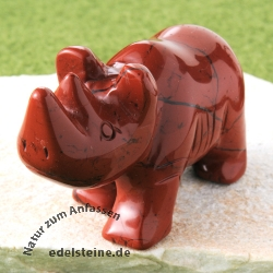 Nashorn roter Jaspis