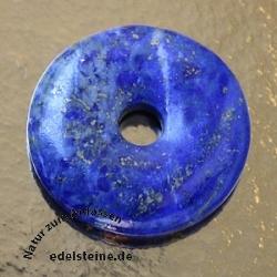 Lapislazuli Donut Anhänger A-Qualität 40mm