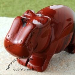 Nilpferd Roter Jaspis