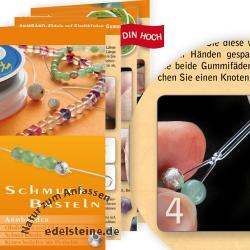 Schmuck Basteln Bastelanleitung Armbänder 50 Stk.