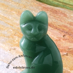 Gemstone Aventurine Cat