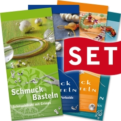 instruction handicrafts silk GERMAN SET 1