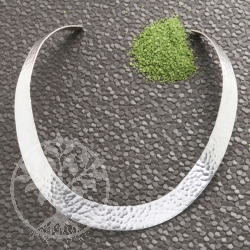Silver Loop hammered