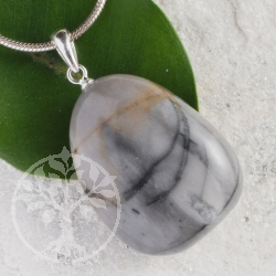Picasso Jasper pendant with loop