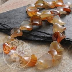 Carneol Perlen Halskette