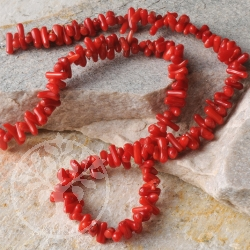 Coral Necklace rods