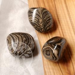 Stromatolith Trommelstein 3 Stück 25/35mm