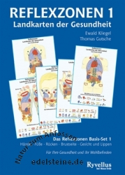 Buch Reflexzonen - Landkarten der Gesundheit