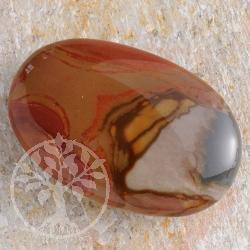 Polychronic-Jaspis Chakrastein groß