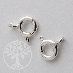 Federring Verschluss 6mm Silber 925 Mini Silberverschluss