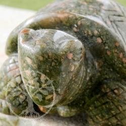 Unakit Figur Schildkröte
