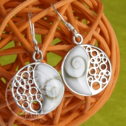 Shiva Earrings Yin Yang