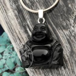 Stone Buddha Onyx Pendant