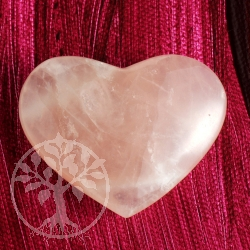 Rose Quartz Heart Handstone big