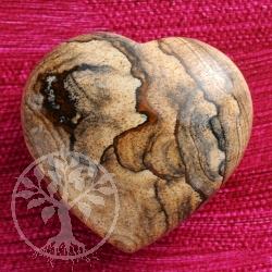 Picture Jasper Gemstone Heart