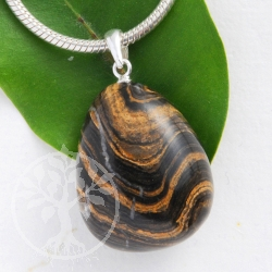 Stromatolite pendant with loop 925